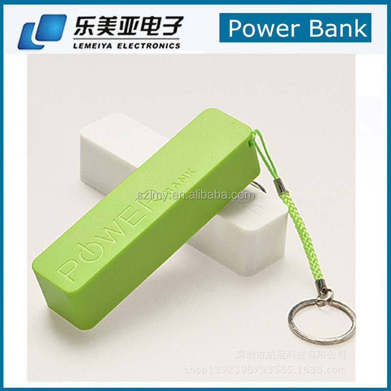 Perfumes mobile phone battery charger 2600mah rohs power bank