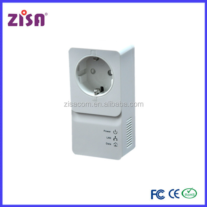 Zisa product powerline 1200 mbps electrical power line networking for a smart home
