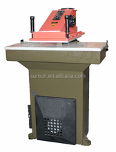 ATOM hydraulic clicker die cutting machine used for shoes
