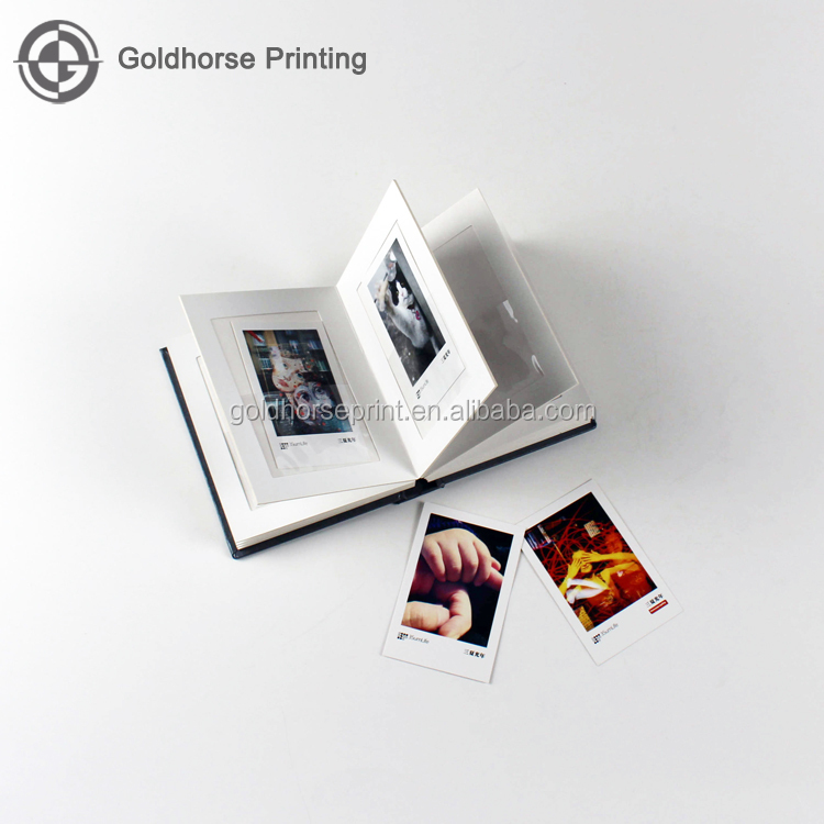 Mini Board Book Printing Thick Cardboard Book for Photos/Small Cardboard Book With PVC