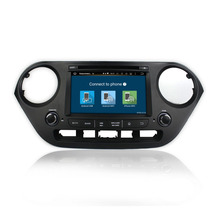 IOKONE double din pure android 6.0.1 car dvd audio video player for Hyundai I10 2014-2015 with gps navigation