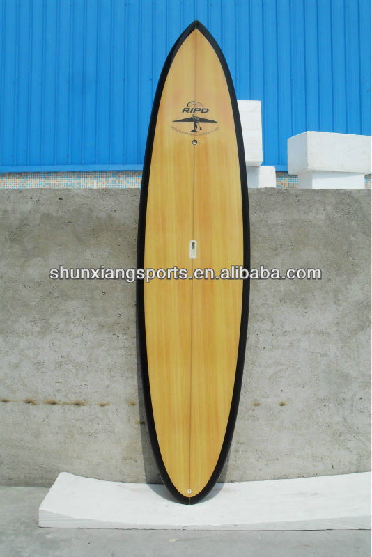 Eps foam stand up paddle board/wood veneer cover surfboard