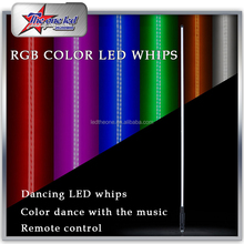 5ft 1.5M LED Fiber Optic Light LED Whip Antenna Light Flag Flexible Quick Disconnect for Car ATV UTV Sand Motorcycle