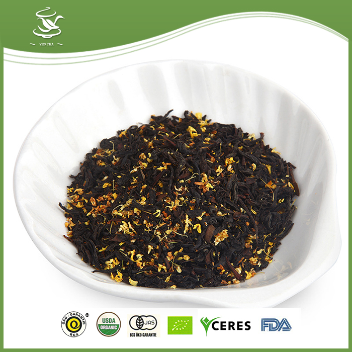Top Quality Organic Herbal Osmanthus Black Tea