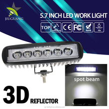 Hot Sale Waterproof 6500K 12v 24v 6.3inch 18w led work light