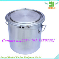 European style stainless steel water storag tank oak barrel drum for sale