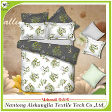 Home use 100% cotton 4pcs bedding set