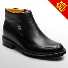 high ankle leather boot casual shoes for men