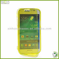 TPU touch case for samsung i9500 s4