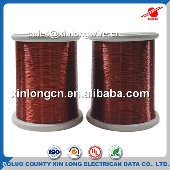 Enameled Copper Wire Size Eiw-2/180 Or Qzy-2/180 Insulated Round ...