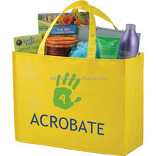 Recession Buster Non-Woven Grocery Tote Bag with pp Board Insert