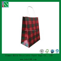 2015 New Design Craft Patterned Paper Carrier Bags