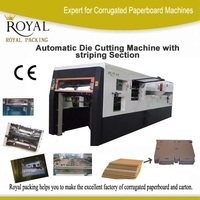 MZ1080/1080Q Automatic Die Cutting Machine with Stripping Automatic Cardboard Die Cutting Machine, Full Automatic Die Cutting M