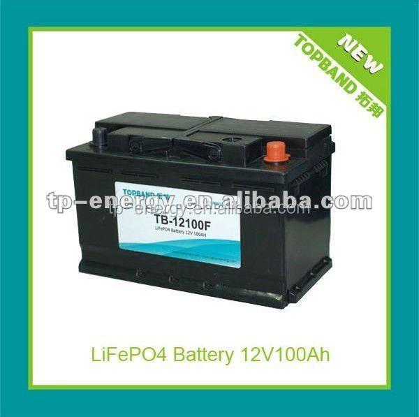 haute qualit 12 v 100ah batterie au lithium ion pour voitures bus accumulateur lectrique. Black Bedroom Furniture Sets. Home Design Ideas