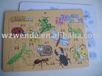(2010 fty supplier) paper board puzzle for kid