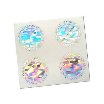 Sheet Package Custom Hologram Die Cut Sticker