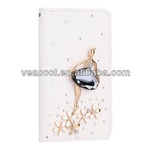 Diamond Angel Handmade Leather Case Cover For iPhone 5 5G 5S Case