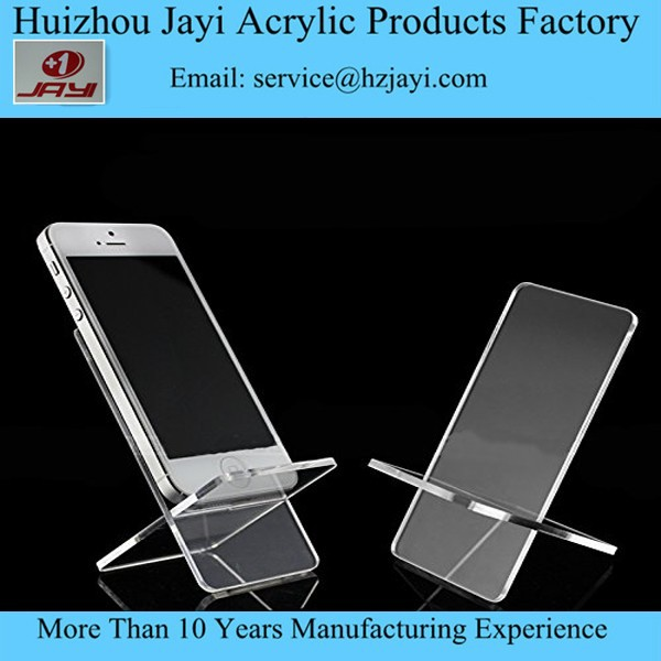 Display Stand Clear Acrylic Mount Holder for Cell Phone iPhone 4 4S 5 S C HTC samsung