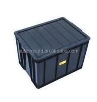 Huangyan crate with cover plastic injection mould