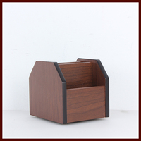 Office Supplies Wholesaler Wooden rotary pencil container
