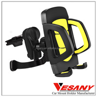 VESANY hot selling mobile accessories customized convenient rotatable cradle vent car phone holder for HTC LG G3
