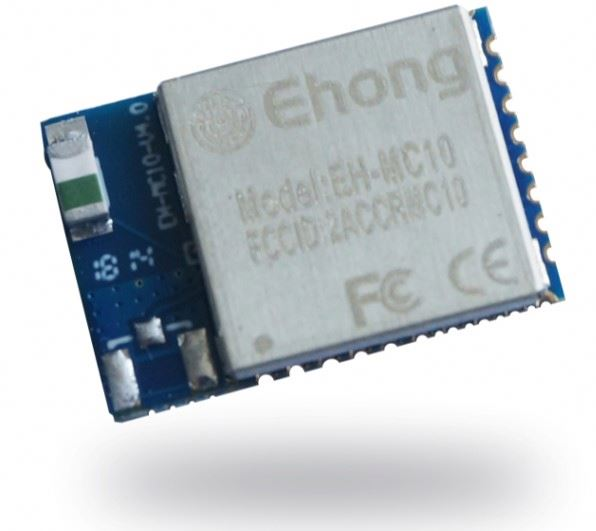 Small Size EH-MC10 Bluetooth Low Energy Module For iBeacon