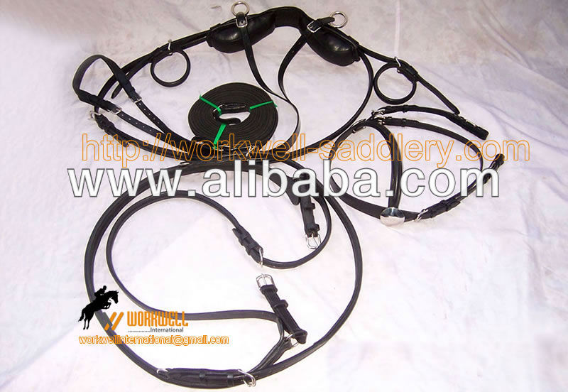Driving Harness for Miniature Horse Leather