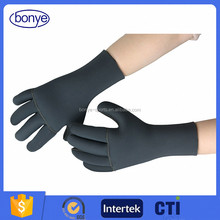Factory Wholesale BLACK Neoprene Diving Gloves