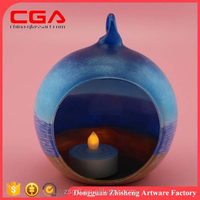 Brilliant Factory Outlets Glass Candle Holder Handicrafts