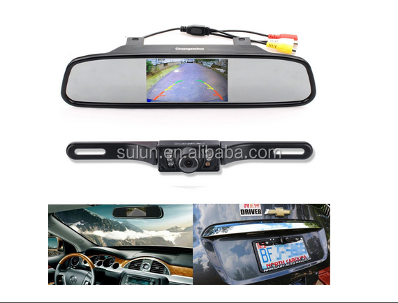 Full HD Rear View Mirror Car Dvr Camera