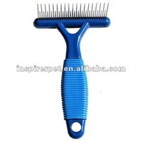 Cat Pet Comb Dog Brush Rakes Hair Shedding Grooming Tool Trimmer