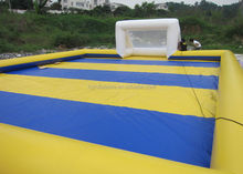 2015 Cheap childrens sports games/inflatable soccer playground/inflatable soccer field