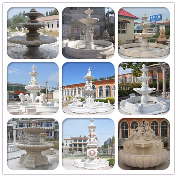 White Horse Marble Fountain Prices For Sale