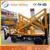Well Design Man Lift Self-propelled Articulated Boom Lift Aerial Work Basket Lift