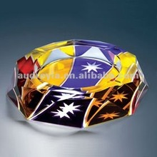 Fashionable ashtray crystal ashtray(AC-512)