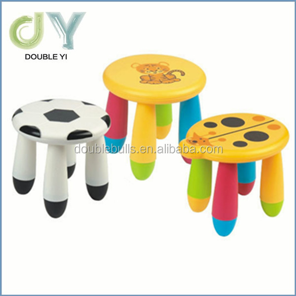PP plastic folding stools short bench portable children cute standing stool chairs