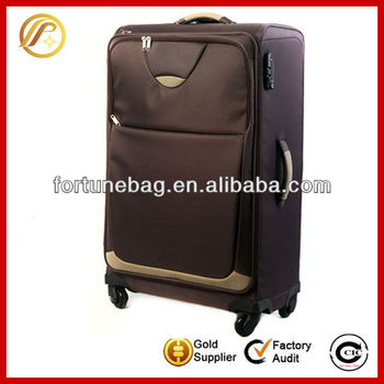 Big-capacity business 4 wheels trolley bag