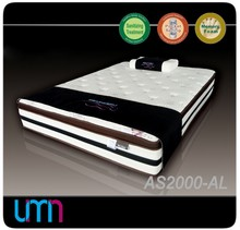 UMN AS2000-AL Noble Fabric Cover Outdoor Bed Mattresses With Reasonable Price And Nonwoven Fabric Manufacturing Unit Of China