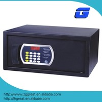 Security digital hotel safe deposit box with master code