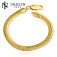Brilliant Snake Hand Chain Gold Plated