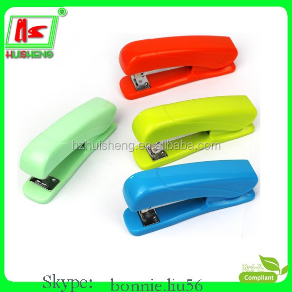 school plastic sheet stapler hot stapler