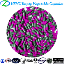Pharmaceutical Grade HPMC Vegetable Hollow Capsules Size#00