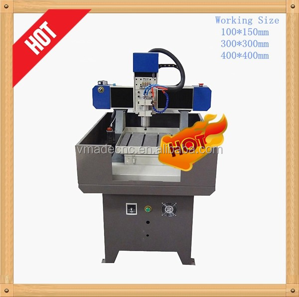 VRM0303 Processing/educational low cost mini/diy metal 3 axis cnc milling machine portable