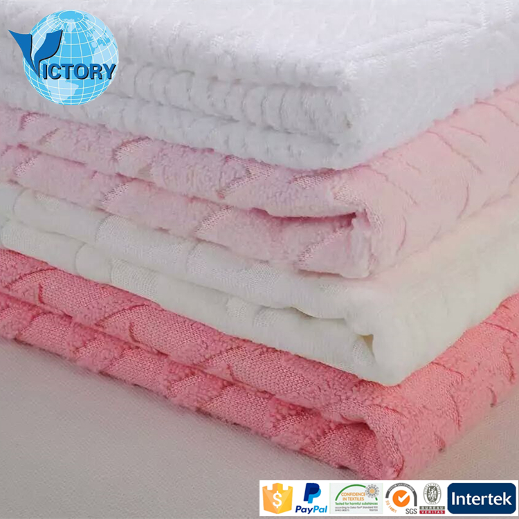 Micro Funiture Cleaning Super Soft Jacquard Terry 100 Polyester Microfiber Fabric