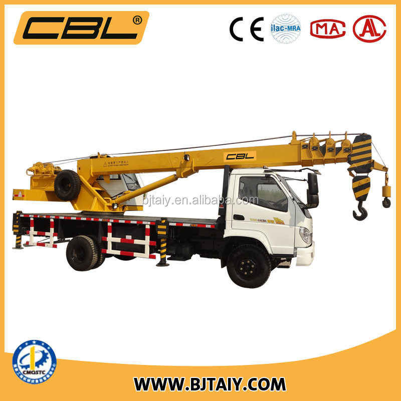 2016 new model best sale 10 ton mobile truck crane with 26m lifting height