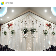 crystal bead curtain for wedding decoration/curtain swags valances/paper curtain party customized