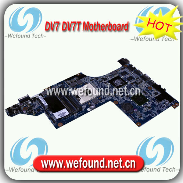609787-001,Laptop Motherboard for HP DV7 DV7T Series Mainboard,System Board