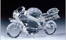 Hot sale clear crystal motorcycle model