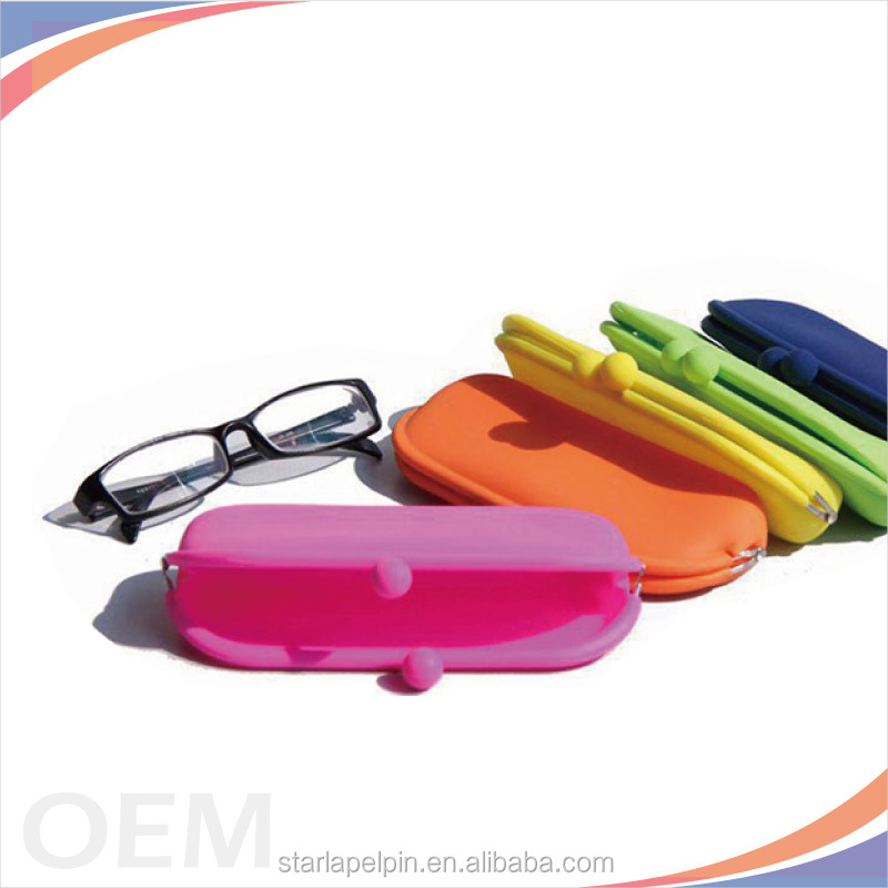 Wholesale waterproof custom logo silicone phone bag purse with Pantone