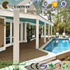 green building construction materials/garden pool wpc wood decking